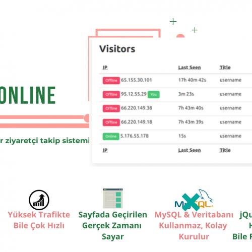 Rimtay Online Ziyaretçi Takip Sistemi